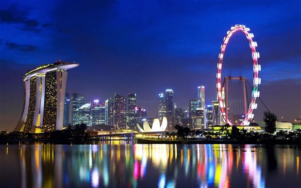Singapore travel guide: luxury hotel