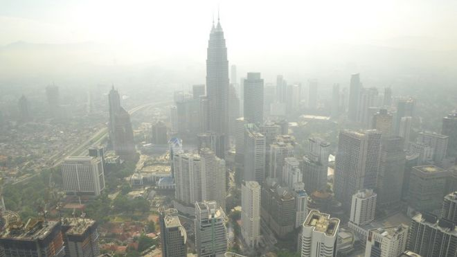 Haze from Indonesian fires returns to Malaysia