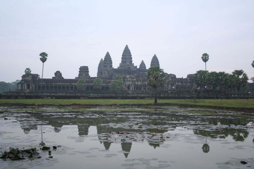 Air pollution and toxins are at its most severe, threatening Angkor wat