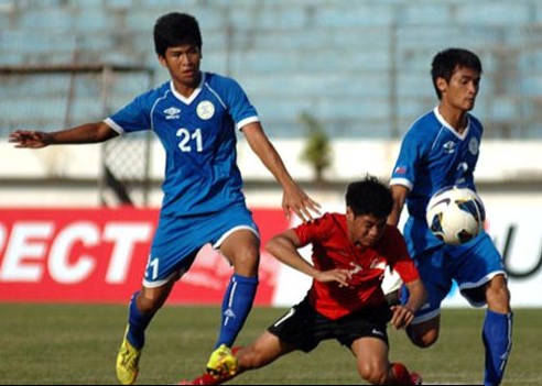 Laos defeats Singapore, U19 Championship