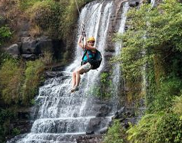Zip-lining excursions in Laos