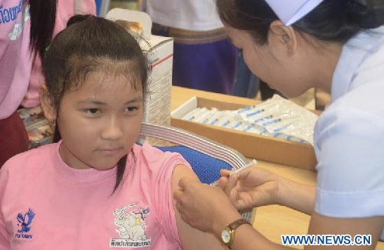Laos became the first South East Asian nation to introduce pneumococcal vaccine