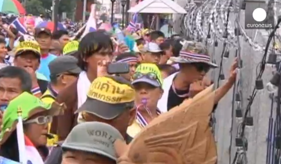 Thai anti-government protest continues in Thailand