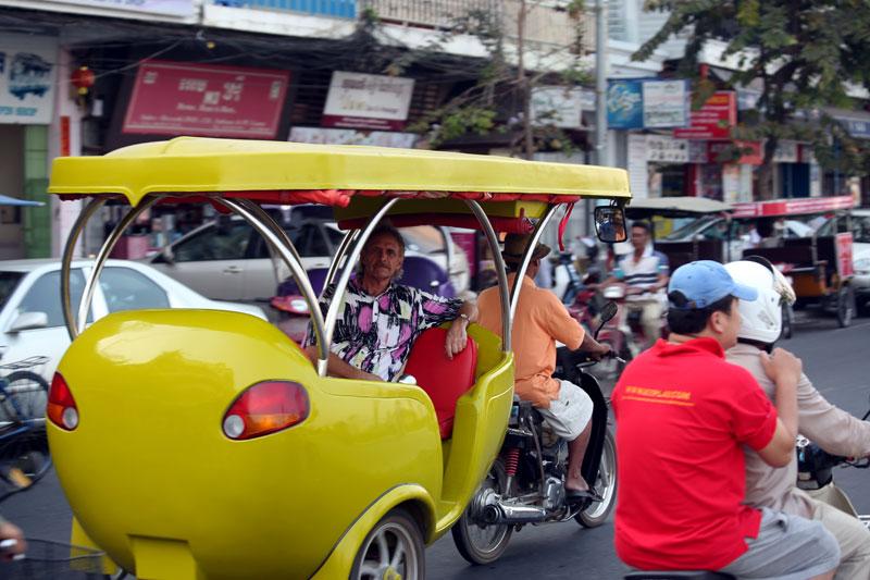 Cool looking Cambodian Tuk-Tuks