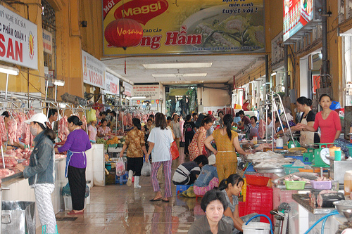 Ben Thanh Market Hall #1 by kentgoldman, on Flickr
