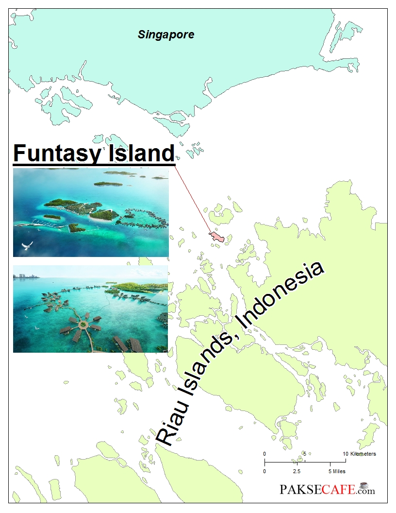 Funtasy Island Location