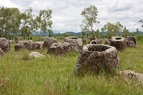7 Facts to know about the Plain of Jars, Laos.
