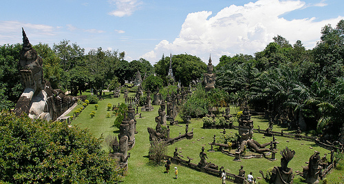 Buddha Park by Gusjer, on Flickr