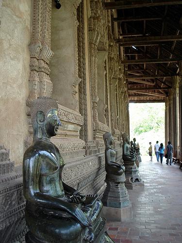 Haw Phra Kaew buddhas by Alex Valavanis, on Flickr