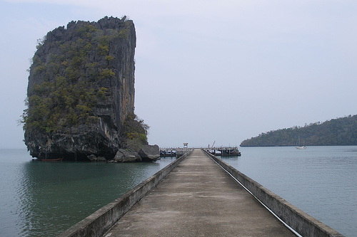 West dock of Koh Tarutao (2007-03-594) by Argenberg, on Flickr
