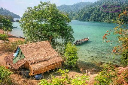 Mergui Archipelagos in Myanmar