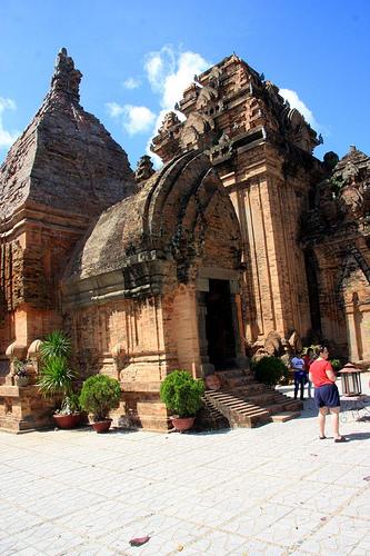 Po Nagar Cham Towers, Nha Trang, Vietnam by Bruce Tuten, on Flickr