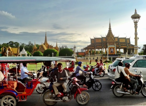 Motorbiking in Thailand.