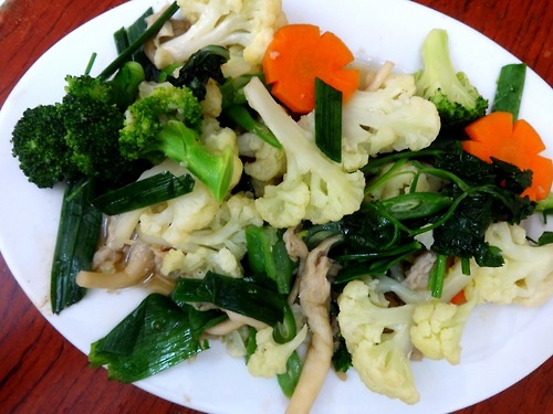 3. Mixed vegetables