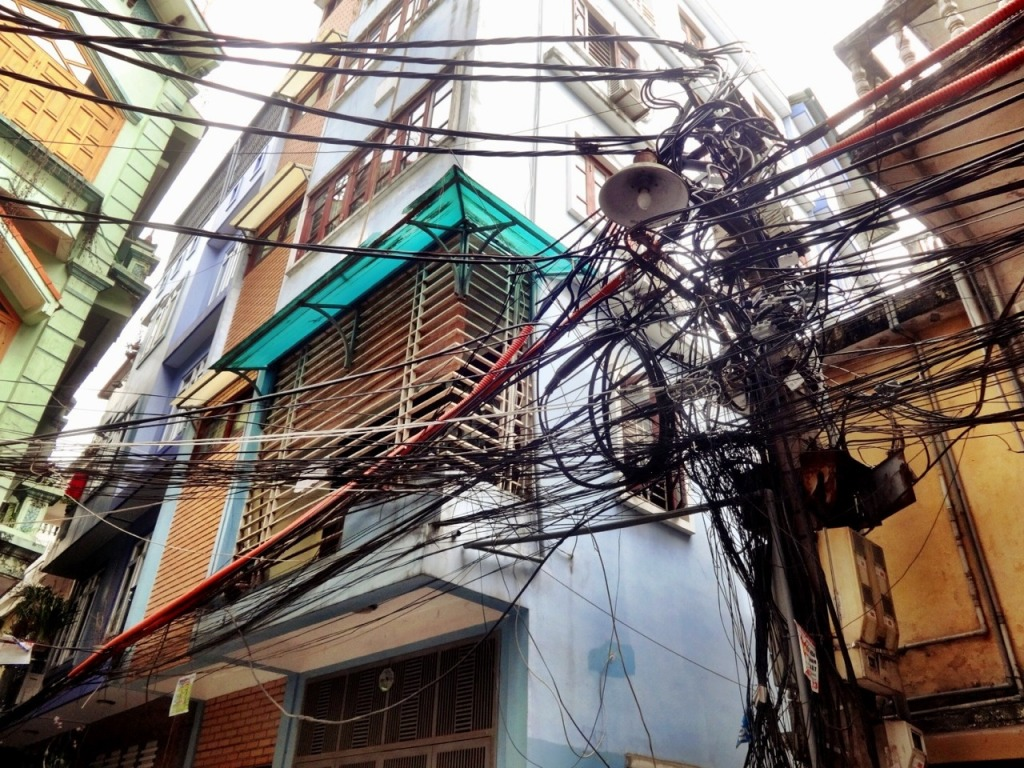 Power Lines, Old Quarter Vietnam
