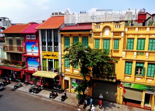 Checking Out The Old Quarter of Hanoi, Vietnam.
