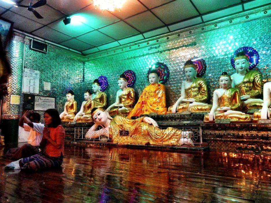 Shwedagon Pagoda Interior