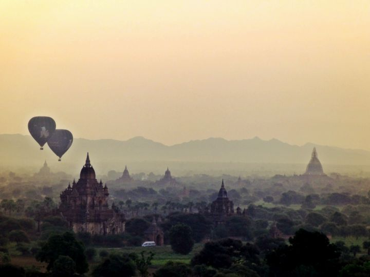 Sunrise number 2 in Bagan Myanmar