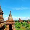 Exploring Bagan's Temples of Myanmar! Travel Info & Hot Air Ballons?