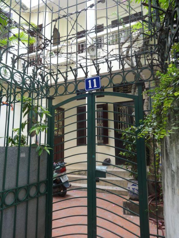 Gated house in Hanoi