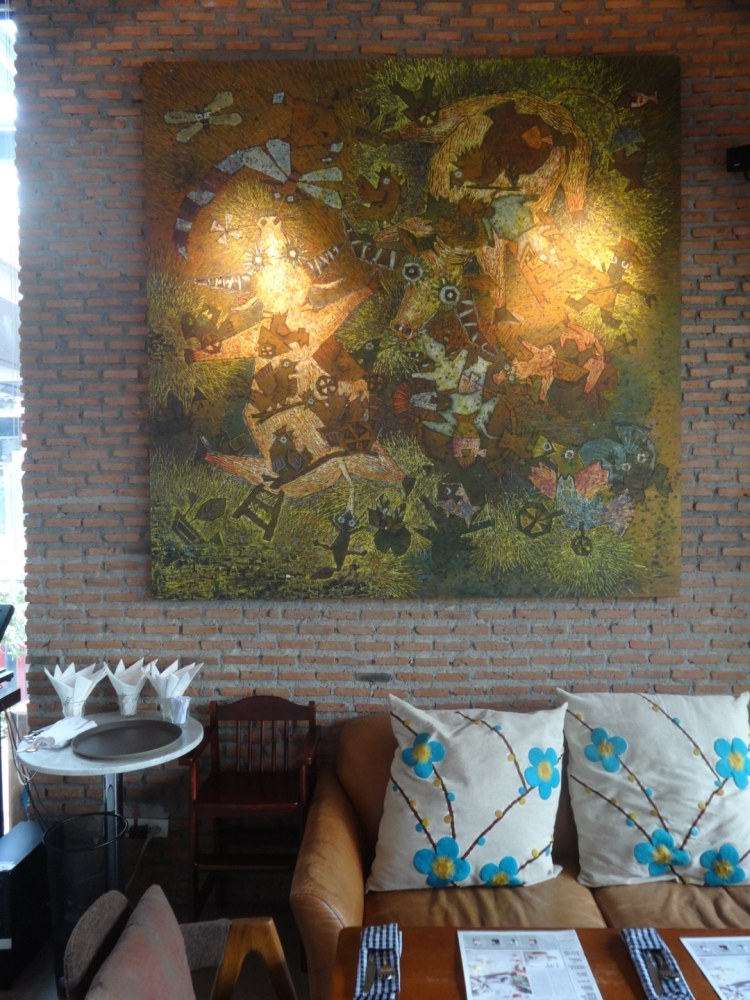 Bangkok Roast Cafe: Interior Seating area