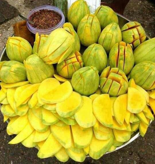 Unrip Mango
