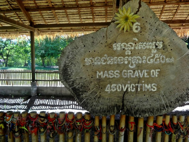 A mass grave, Killing Fields