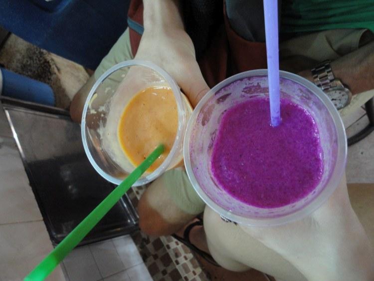 Juice at Ben Thanh - Market Vietnam