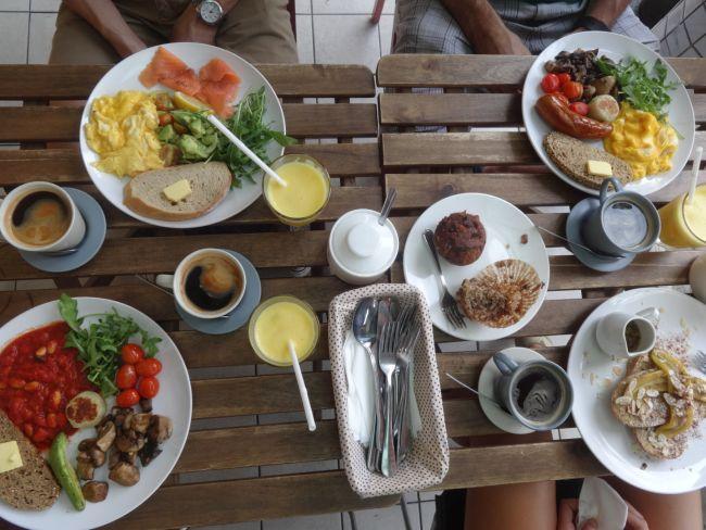 Breakfast in Kuala Lumpur, Malaysia