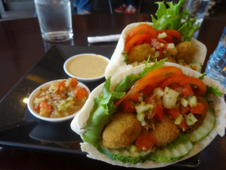 Falafel at Common Grounds, Vientiane