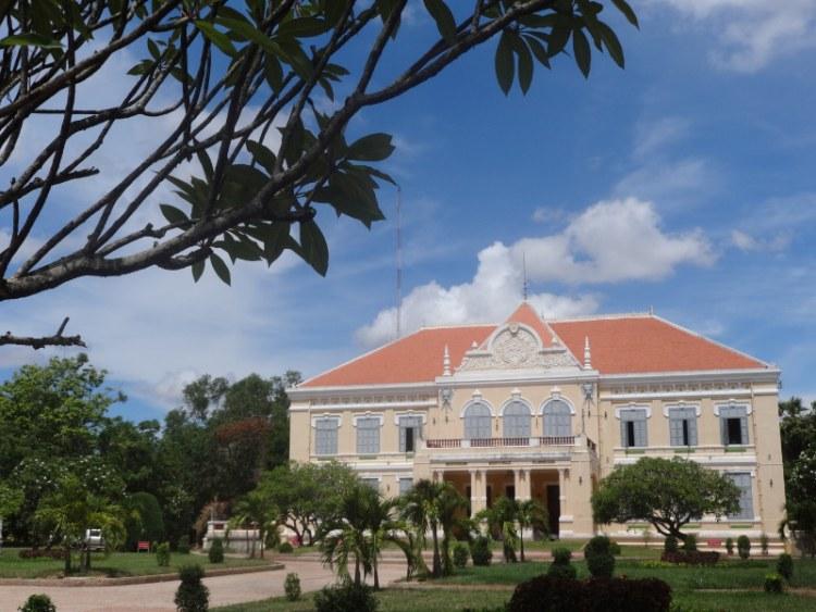 Architecture Battambang, Cambodia. Building