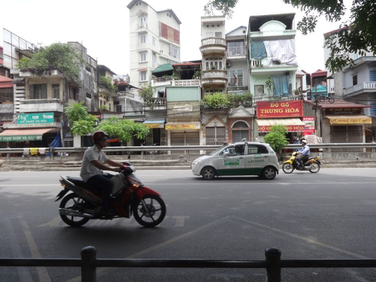 Streets of Hanoi, Motorbiking