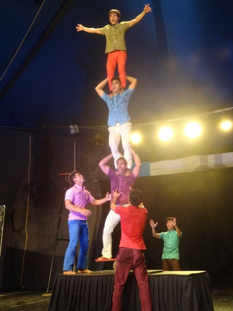 Circus in Battambang Cambodia