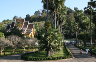 New Park & Resort in Luang Prabang Laos.