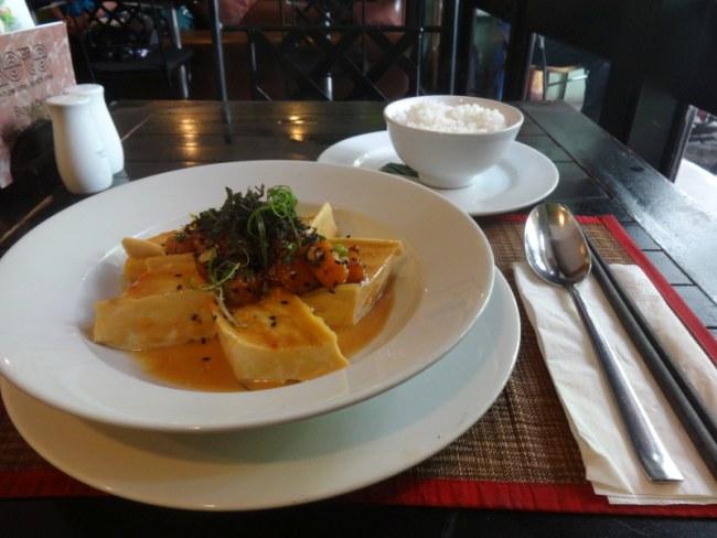 Tofu from Koto Restaurant in Hanoi, Vietnam