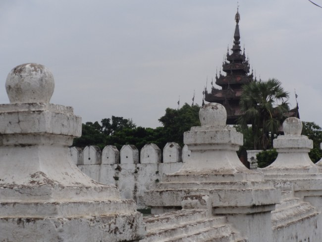 palace in Mandalay