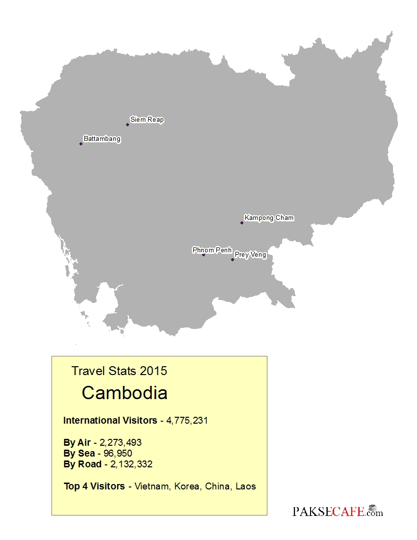 A Guide To Visas Throughout Southeast Asia Vietnam Cambodia - Cambodia visa for us citizens dc embassy map