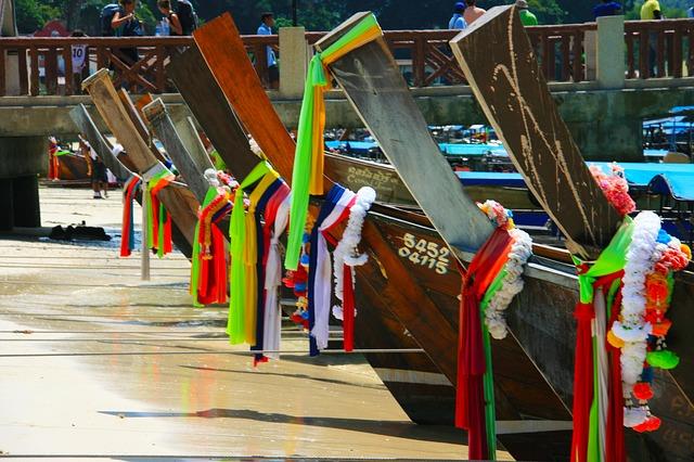 krabi boats