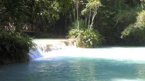 Kuang Si Falls - Luang Prabang Waterfall, Laos