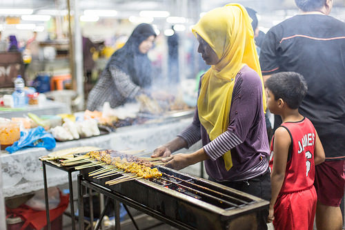 Gadong Night Market by IQRemix, on Flickr